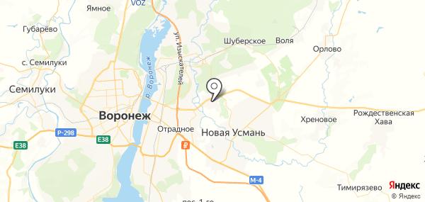 Бабяково на карте