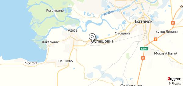 Новоалександровка на карте