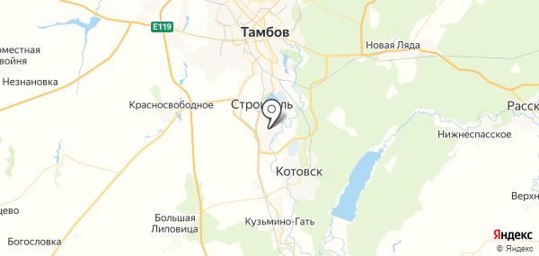 Бокино на карте