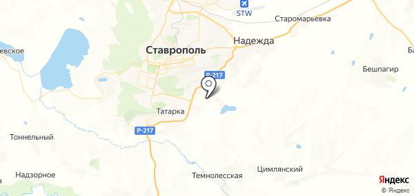 Дёмино на карте