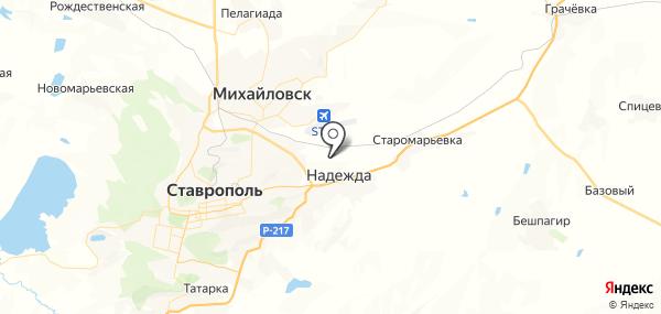 Ташла на карте