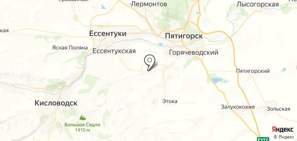 Юца на карте