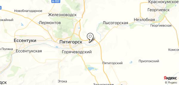 Константиновская на карте