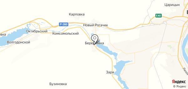 Береславка на карте
