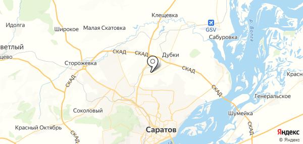 Зоринский на карте
