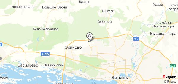 Новониколаевский на карте
