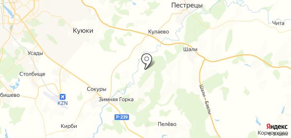 Карповка на карте