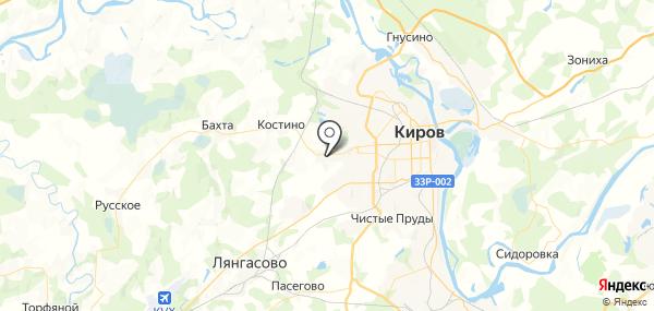 Садаковский на карте