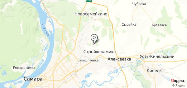 Петра Дубрава на карте