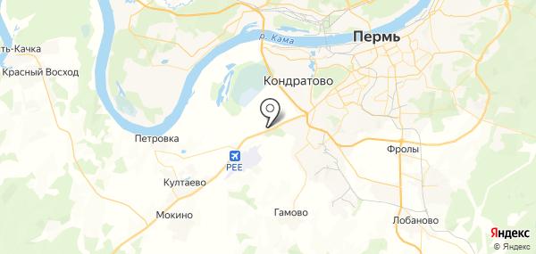 Песьянка на карте