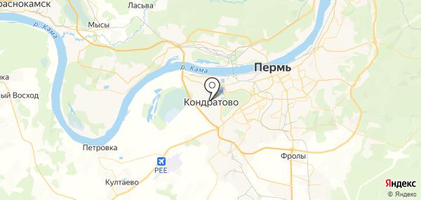 Кондратово на карте