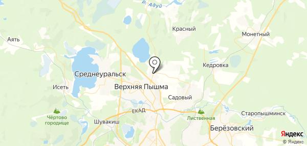 Балтым на карте