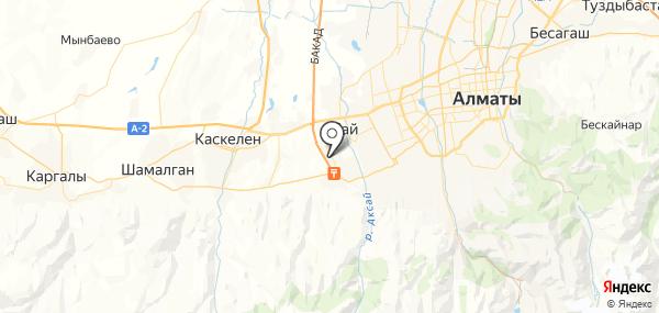 Райымбек на карте