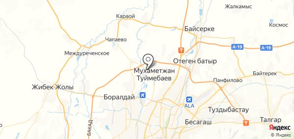 Жапек Батыр на карте