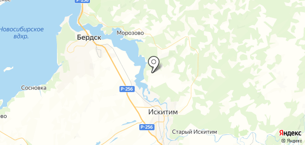 Тальменка на карте