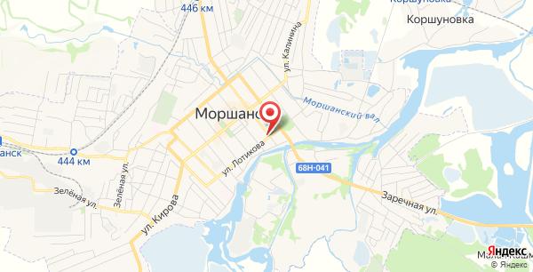 Почтовый индекс моршанск лотикова 68