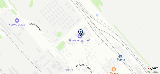 Братскводстрой, ООО на карте