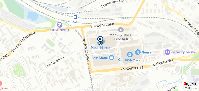 Русичи, ООО на карте