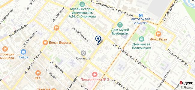 Байкал-Мастер, ООО на карте