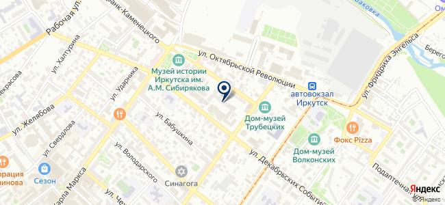 Артье на карте