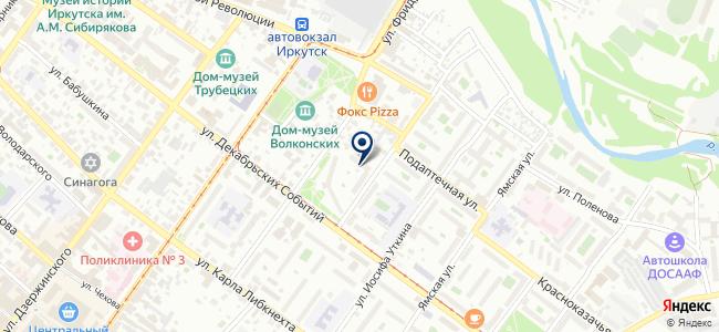 ЛадисХоум на карте
