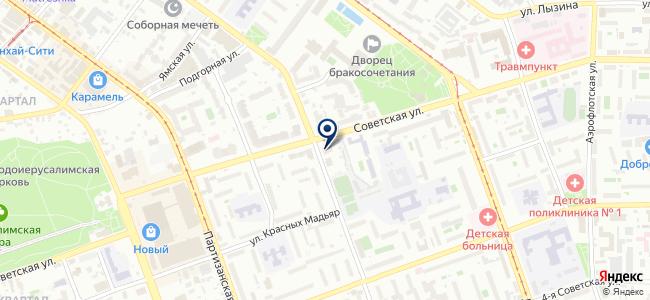 ЭТМ на карте