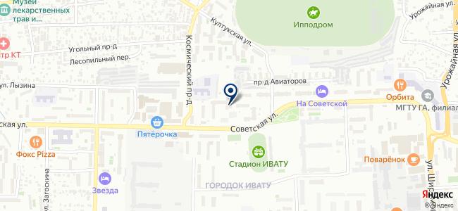 Афина, ООО на карте