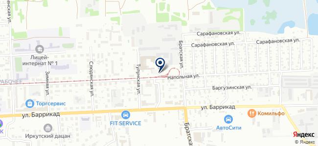 Магнат, ООО на карте