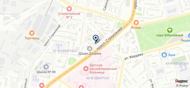 Агентство домашнего сервиса, ООО на карте