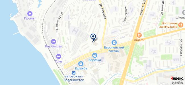 ЛеАндр на карте