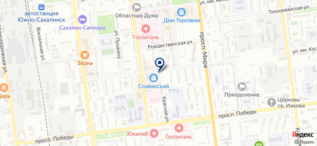 4 комнаты на карте