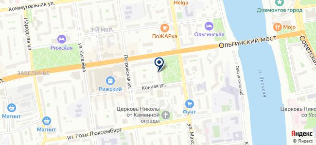 Эклектика на карте