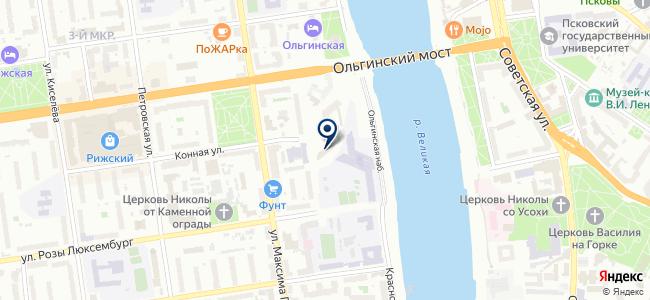 Электрокомфорт на карте