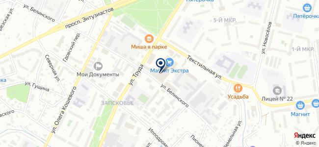 Салон света на ул. Белинского, 74а на карте