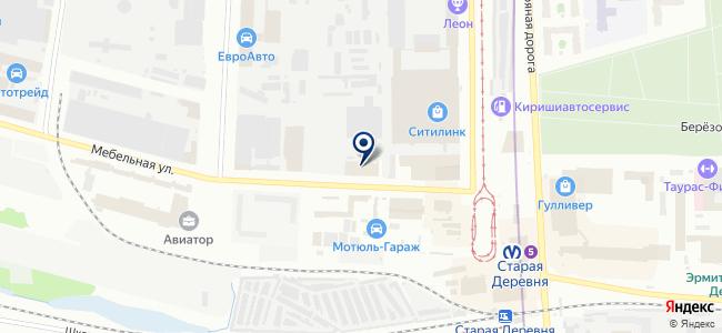 АИТ-СПб, ООО на карте