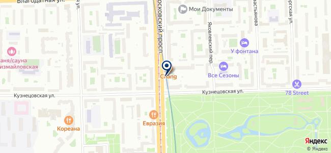 Преобразователь-СПб, ООО на карте