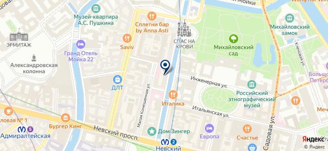 Редукторный Санкт-Петербургский Центр на карте