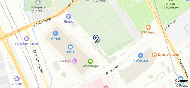 Эко Трейдинг Нева на карте