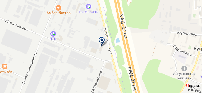 Айсберг-Сервис, ЗАО на карте