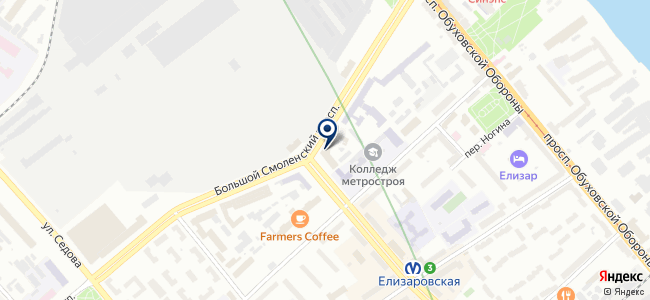Сегмент, ООО на карте