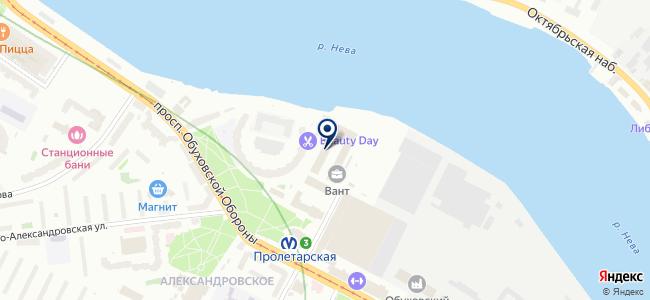 812Metrov на карте