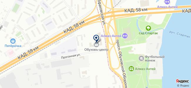 Инженерные Сети СПб, ООО на карте