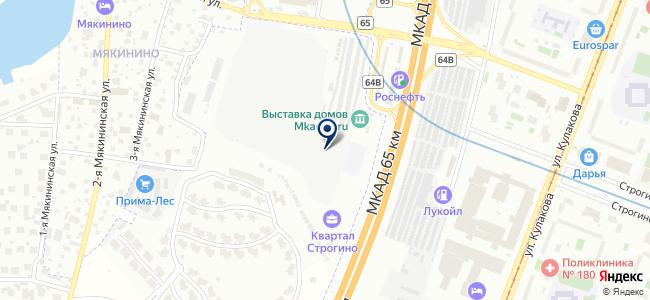 Элевел на карте