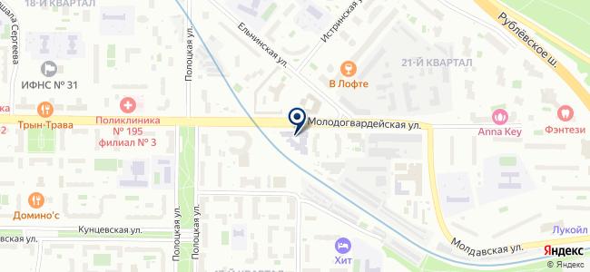 Даверон на карте