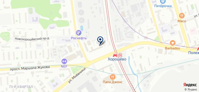 МСК на карте