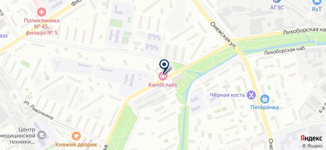 Домовитый на карте