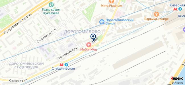 Магазин хозтоваров и электрики на карте