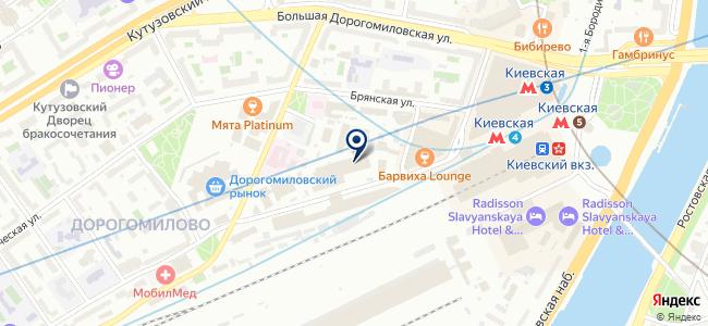 Концепт АБ на карте