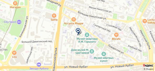 АБИТУС на карте