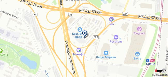 Магазин электротоваров на карте